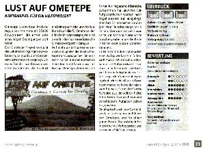 Artikel Lust auf Ometepe