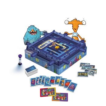 Monsterfalle Spielaufbau