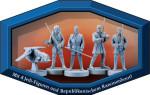 Star Wars Angriff der Klonkrieger 3D Figuren