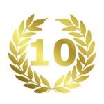 10 Jubiläum